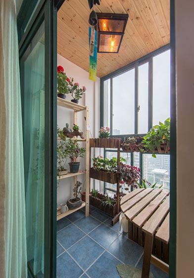 客厅小花园阳台装修效果图