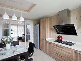 蜗居豪宅都适用   12个整体厨房装修效果图