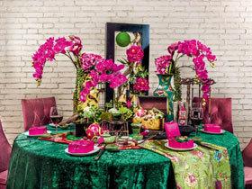 打造新年饕餮盛宴 12个精致餐厅装修图
