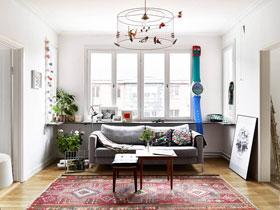 功能性公寓装修 58㎡北欧风格装修图片