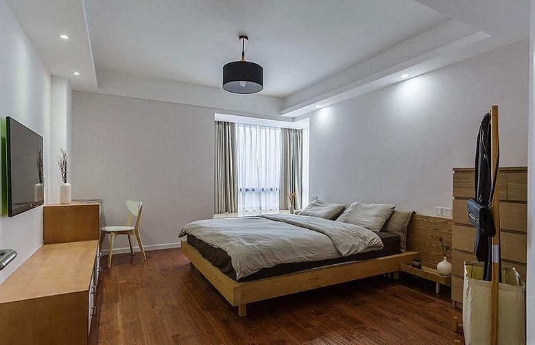 简约风格简洁卧室吊顶装修效果图