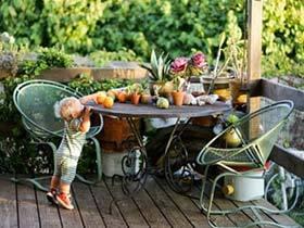 享受阳光的美好   11个庭院家具装修实景图