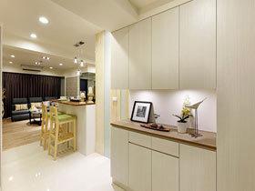 我最喜欢明亮亮的家  所以我选择白色调装修