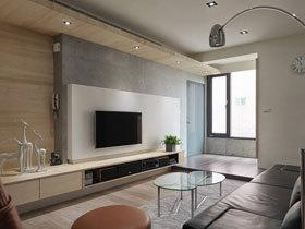 小夫妻的二居室 86平北欧风格装修