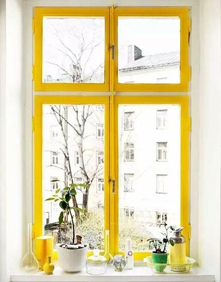 黄色家具效果图装修