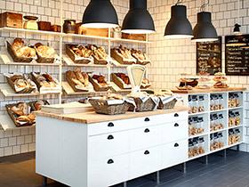 国外面包店装修图片