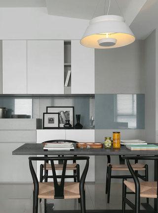 现代简约风 开放式厨房餐厅设计