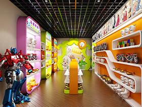 儿童玩具店装修效果图