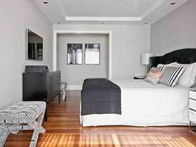 犹豫中的美丽 10个灰色系卧室装修实景图