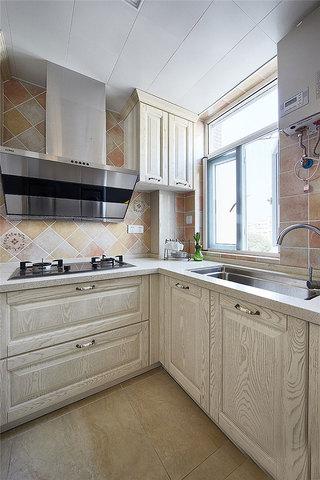 80平两室美式风格装修厨房设计