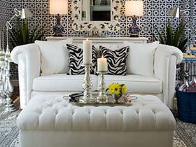 现代的超强震撼  10款现代风格客厅装修图片