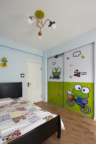 80平情调小家美式风格装修儿童房
