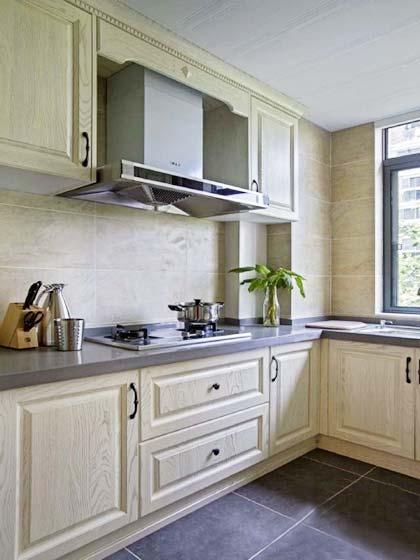 简洁美式厨房装修效果图