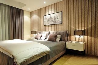 90平简约风格装修简约卧室图片