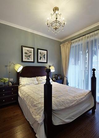 140平美式风格装修美式卧室布置图