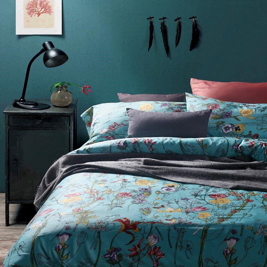 卧室布艺设计摆放图