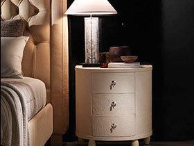 枕边小风趣 11个现代感床头柜设计图片