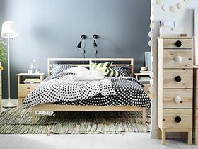 在宜家中醒来  10个床装修设计图片