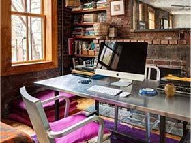 全能空间大作战  10个书房设计布置图