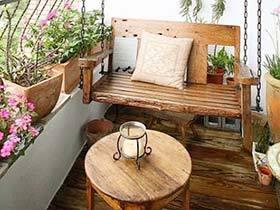 阳台感受世界  10个花园阳台装修图片