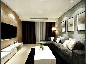 温馨实用家居设计  简约风格三居室装修图片