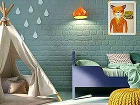 10个儿童房装修效果图 熊孩子的快乐城堡