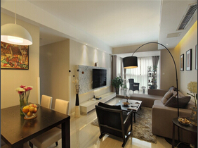 温馨黄色永远都受欢迎 现代风两居室盛满幸福