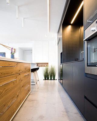 简洁现代风 开放式厨房橱柜装修
