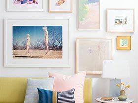 做艺术之家  10个室内装饰画摆放图片