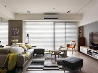 快乐温馨小天地 简约风格三居室装修简约客厅