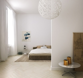 卧室设计整体构造图