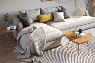宜家风灰色系布艺沙发设计