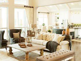 改装小能手  10个客厅沙发布置摆放图片