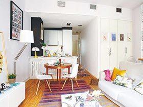 50平米创意一居室装修图片  小户型大内涵