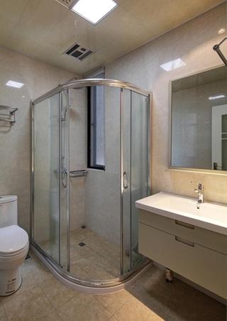 咖啡色的甜蜜空间 最爱简约风格装修卫生间设计
