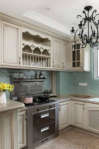 咖啡色的甜蜜空间 最爱简约风格装修厨房设计