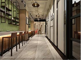 经典复古咖啡厅效果图