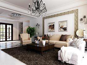 简单又实用的布置  10个沙发背景墙设计图
