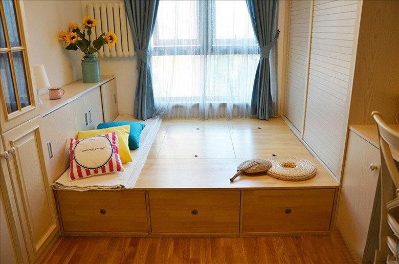 10个小房间榻榻米床平面图