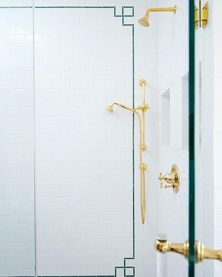 混搭风格别墅卫生间瓷砖图片