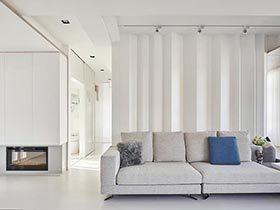 白色控的福音  亮堂堂的三居室装修