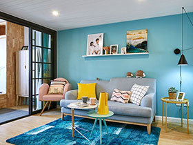 80平北欧风格两室两厅装修 开启绚烂新生活