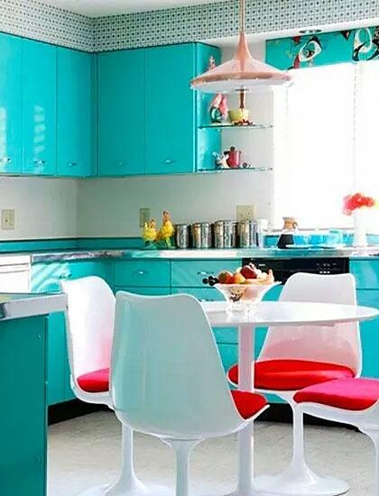 厨房装修图整体橱柜设计图片