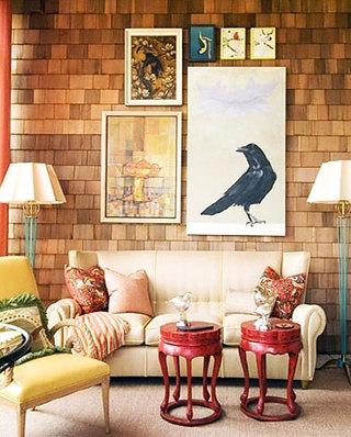 沙发背景墙空间照片墙图片