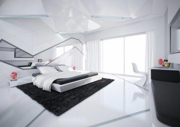 白色卧室装饰图片大全