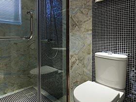 洗出清爽  10个卫生间玻璃浴室实景图
