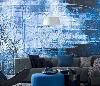 蓝色壁纸设计图片