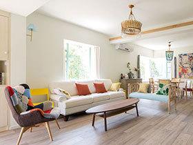 美腻的公寓装修图 清新色调带给你靓丽心情