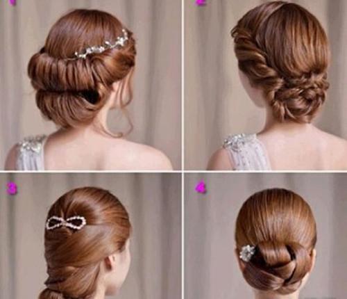 新娘发型怎么编好看 新娘编发的步骤和注意事项