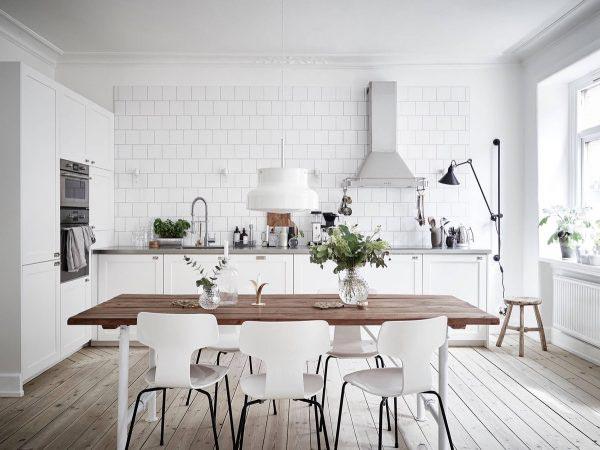 白色系厨房设计装修图片